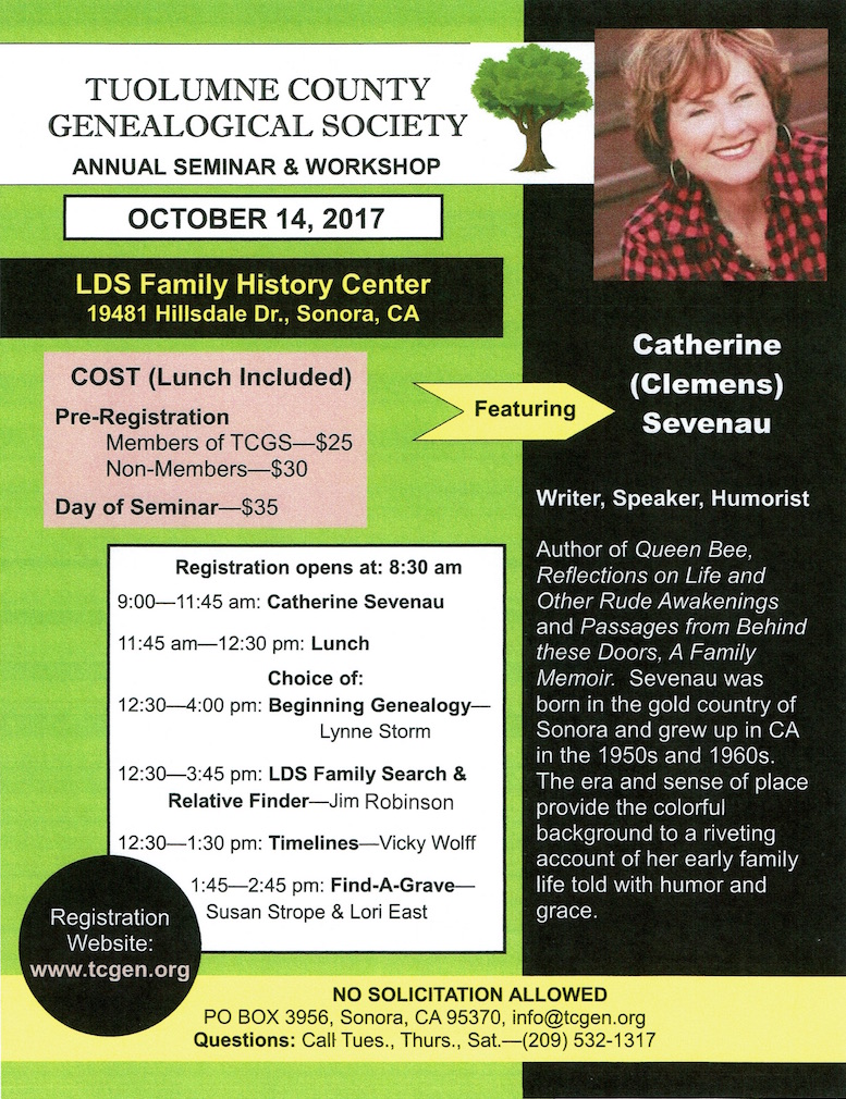 Seminar & Workshop Flyer